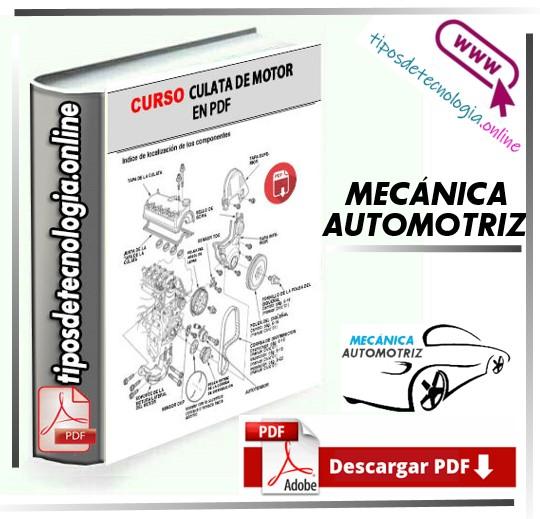CURSO COMPLETO SOBRE CULATA DE MOTOR