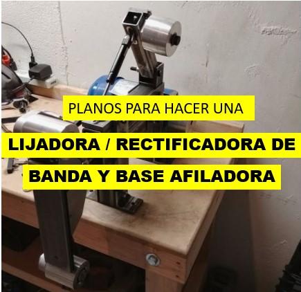 PLANOS RECTIFICADORA DE BANDA